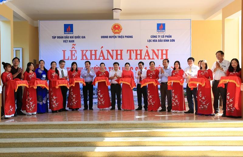 BSR khánh thành trường tiểu học tại Quảng Trị 1