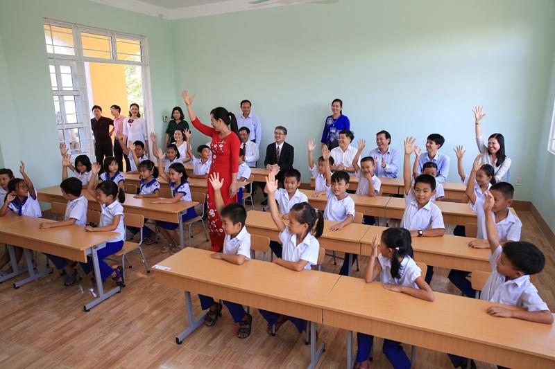 BSR khánh thành trường tiểu học tại Quảng Trị 3
