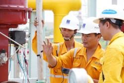 Sản lượng khí về bờ của PV GAS sụt giảm