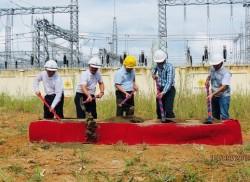 Khởi công dự án ĐZ 110kV thủy điện Mường Lay - Lai Châu