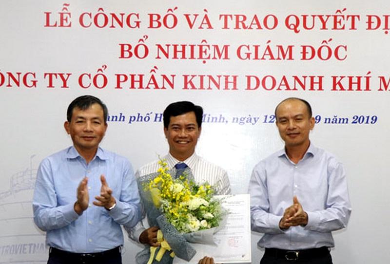 Trao quyết định bổ nhiệm Giám đốc Công ty Khí miền Nam
