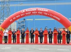 Khánh thành dự án Nhà máy Nhiệt điện Vĩnh Tân 4
