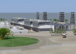 Gazprom xúc tiến đầu tư dự án Nhiệt điện khí Quảng Trị