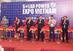 Khai mạc Triển lãm quốc tế năng lượng mặt trời Việt Nam 2019