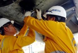 Vượt tiến độ bảo dưỡng sửa chữa hệ thống khí PM3 Cà Mau