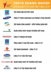 PVN là doanh nghiệp có lợi nhuận tốt nhất Việt Nam 2019