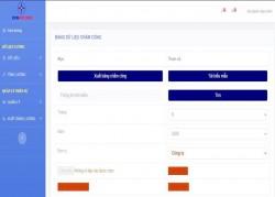 Công ty DHD xây dựng thành công phần mềm tính lương trên giao diện Web