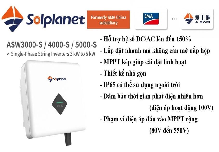 Ra mắt sản phẩm Inverter Solplanet, Aiswei