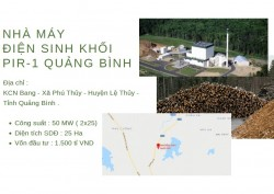 Triển khai khảo sát Dự án Nhà máy điện sinh khối PIR-1 Quảng Bình