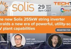 Ra mắt biến tần chuỗi Solis 255 kW tại thị trường châu Âu