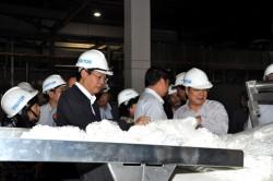 Chủ tịch HĐTV PVN chỉ đạo công tác vận hành Nhà máy PVTEX