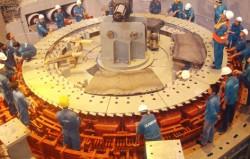 Lắp thành công rotor tổ máy số 1 Thủy điện Hủa Na