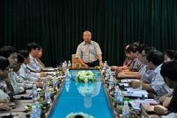 Tổng giám đốc PVN làm việc với Nhà máy Lọc dầu Dung Quất