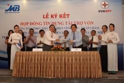 EVNNPT và MB ký hợp đồng tín dụng tài trợ vốn trị giá 835 tỷ đồng