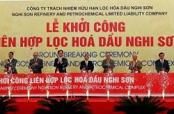 Khởi công dự án Liên hợp Lọc hoá dầu Nghi Sơn