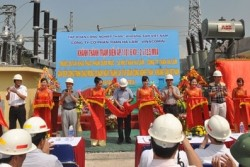 Ha Lam 110/6 kV transformer substation  Inauguration