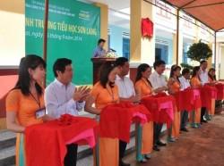 PVFCCo khánh thành trường tiểu học tại Gia Lai
