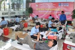 PVFCCo tổ chức ngày hội hiến máu nhân đạo năm 2014