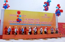 Động thổ dự án Nhà máy nhiệt điện Quỳnh Lập 1