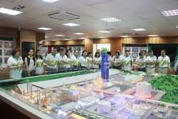 Khách hàng tiêu biểu thăm quan Nhà máy Đạm Phú Mỹ