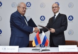 Nga và Armenia thỏa thuận hợp tác an toàn hạt nhân
