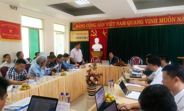 Energized 500kV Son La – Lai Chau transmission line