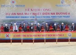 Khởi công dự án Nhà máy nhiệt điện Na Dương II