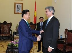 Thủ tướng tiếp Chủ tịch kiêm Tổng giám đốc Siemens