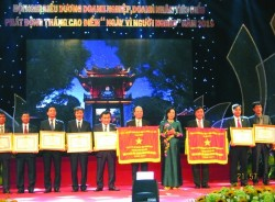 CADI-SUN nhận cờ thi đua của Thủ tướng Chính phủ