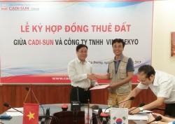 CADI-SUN cho thuê lại đất tại Cụm Công nghiệp Lương Điền