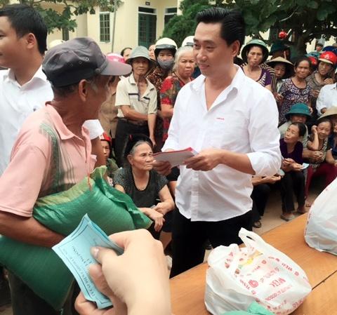 CADI-SUN trao quà trực tiếp đến người dân miền Trung 1
