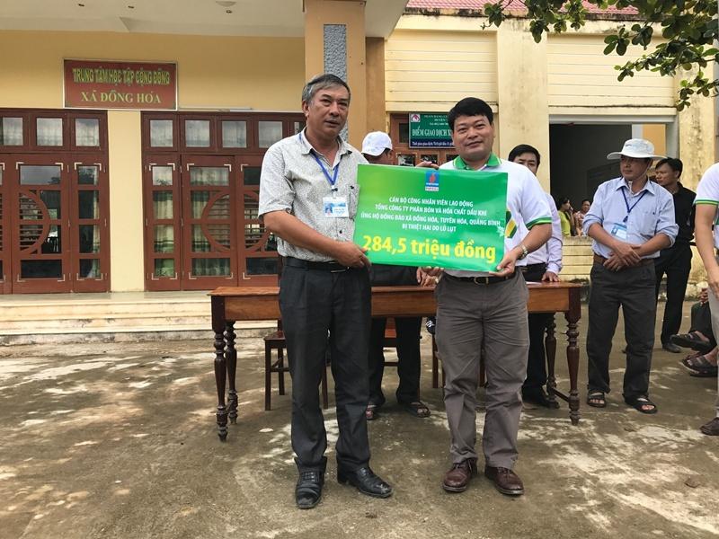 PVFCCo trao 1.600 phần quà ủng hộ đồng bào miền Trung 2