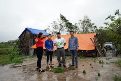 PVFCCo hỗ trợ nạn nhân bão số 10