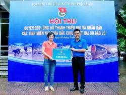 EVN HANOI chung tay giúp đỡ nạn nhân bị lũ lụt