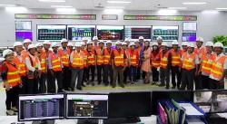 Đoàn hưu trí tỉnh Bình Thuận thăm Nhiệt điện Vĩnh Tân 2