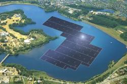 Đề xuất xây dựng dự án điện mặt trời trên hồ Tiên Du