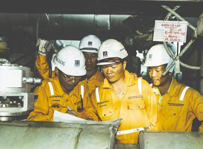 Hoàn thành bảo dưỡng sửa chữa Nhà máy Xử lý khí Dinh Cố 1