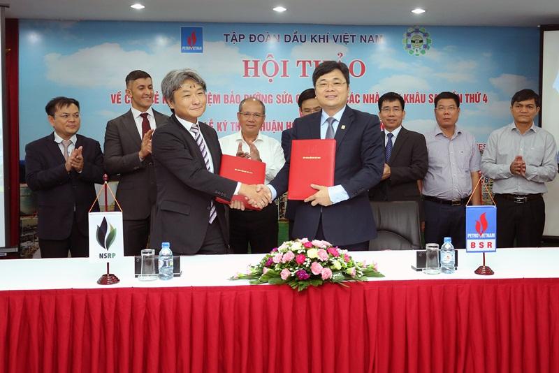 BSR và NSRP hợp tác nâng cao hiệu quả nhà máy lọc dầu 2