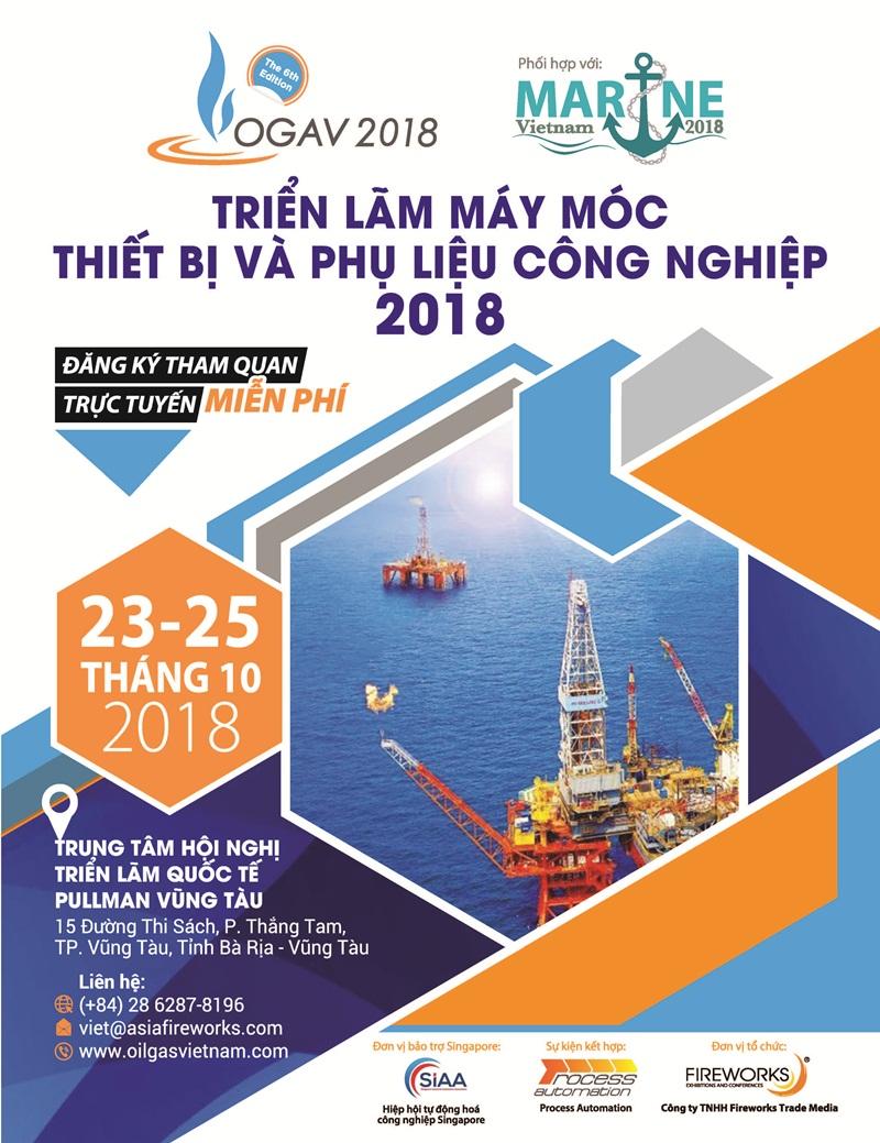 OGAV 2018: Triển lãm máy móc, thiết bị dầu khí và công nghiệp phụ trợ 3