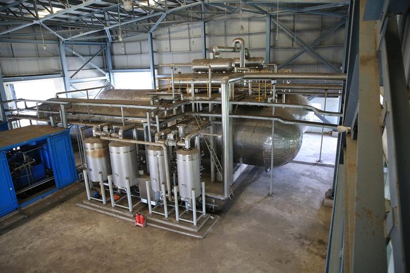 Xuất bán sản phẩm CO2 Nhà máy Nhiên liệu sinh học Dung Quất 2