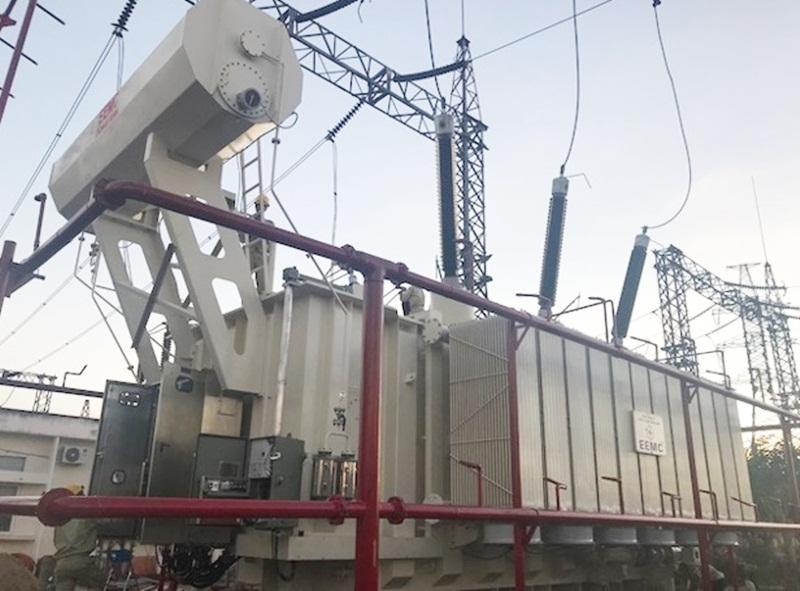 Đóng điện công trình nâng công suất Trạm biến áp 220kV Krông Buk 1