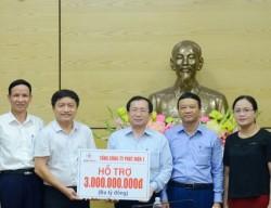 GENCO1 giúp người dân Nghệ An khắc phục hậu quả mưa lũ
