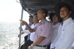 Khảo sát tiến độ công trình điện lưới Kiên Bình - Phú Quốc