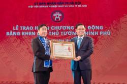 Tổng giám đốc CADI-SUN được tặng Huân chương Lao động hạng Nhì
