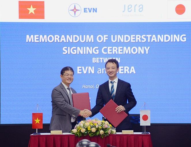 EVN và JERA tìm kiếm hợp tác kinh doanh chuỗi giá trị LNG