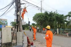 PC Vĩnh Long đảm bảo cấp điện an toàn, ổn định