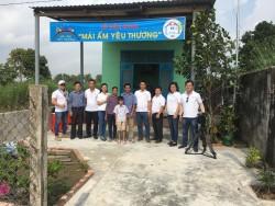Nhiệt điện Vĩnh Tân trao nhà 'Mái ấm yêu thương' thứ tư