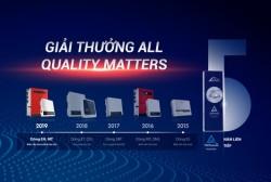GoodWe giành giải thưởng 'All Quality Matters' của TÜV Rheinland