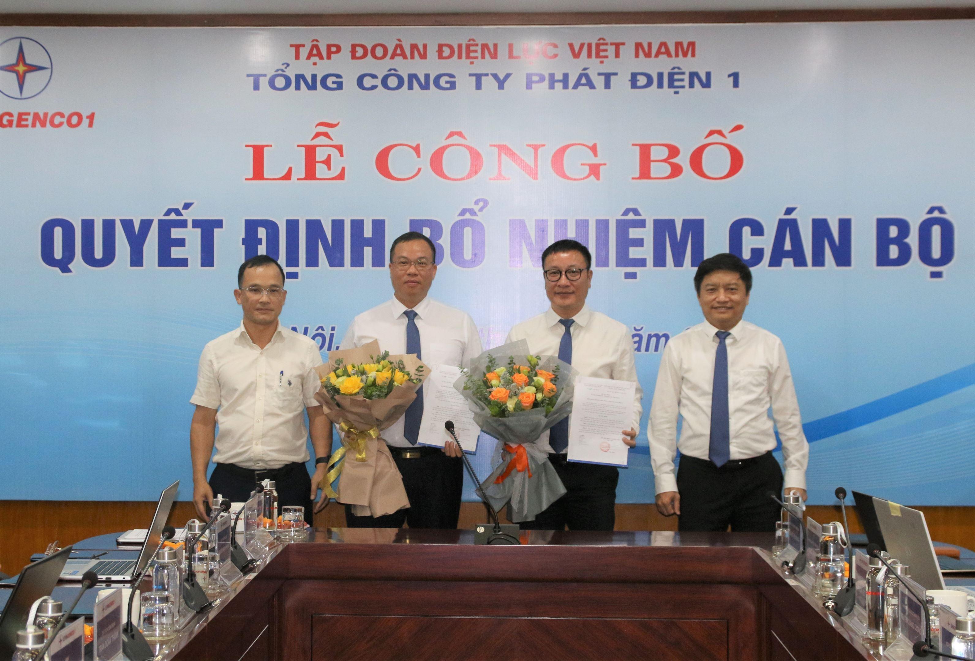 EVNGENCO1 công bố quyết định bổ nhiệm cán bộ