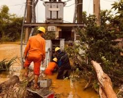 Ảnh hưởng mưa lũ tại miền Trung đến cung cấp điện và vận hành các hồ thủy điện